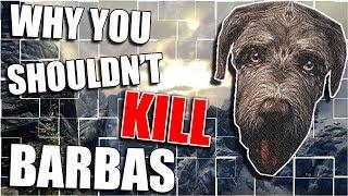 Why You Shouldn't Kill Barbas | Hardest Decisions in Skyrim | Elder Scrolls Lore