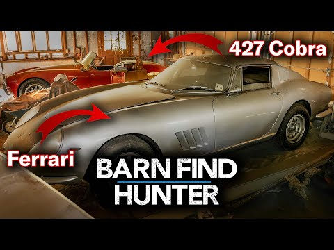 $4,000,000 Barn Find - Rare Ferrari AND 427 Cobra Hidden For Decades | Barn Find Hunter - Ep.24
