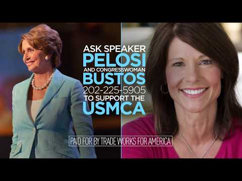 Trade Keeps Illinois Growing. Tell Congresswoman Bustos to Support the USMCA