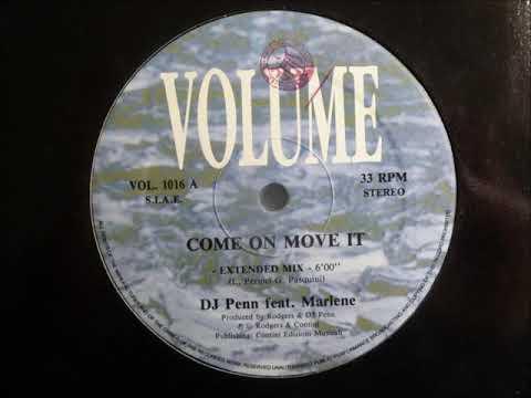DJ Penn feat  Marlene - Come On Move It