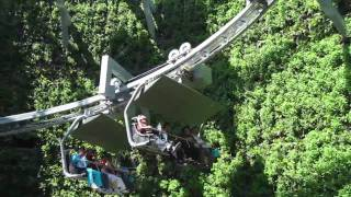 Video : China : Alpine ride, Swiss pavilion at the ShangHai 上海 World Expo