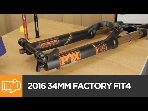 FOX 34mm Factory FIT4 FLOAT 2016