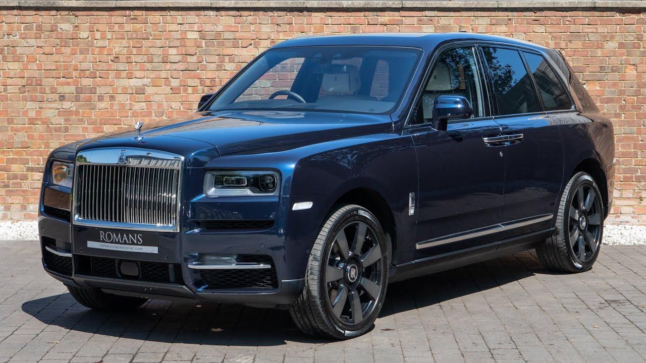 2019 Used Rolls Royce Cullinan V12 Midnight Sapphire