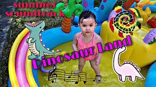 Intex Dinosaur Play Centre Pool| Summer Soundtrack
