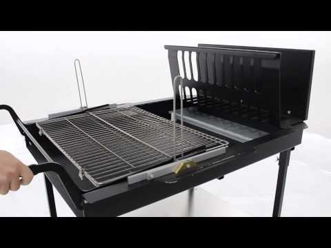 Il funzionamento della griglia girevole del BBQ Automatico 50 - 70
