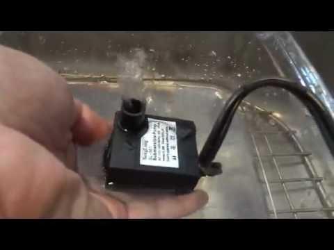 Strong Little Pump, VicTec 80 GPH Submersible Aquarium Water Pump