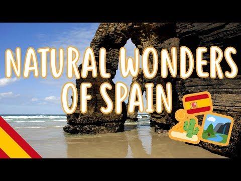 Natural wonders of Spain - Beginner Spanish - Tourism & Travel #26