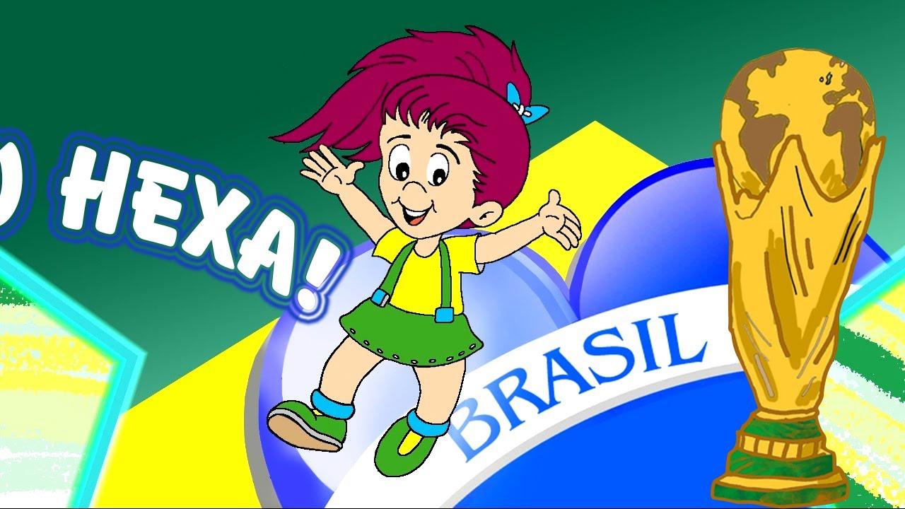 BAIXINHOS TORCENDINHOS  BRASIL 2014 COPA DO MUNDO DE FUTEBOL