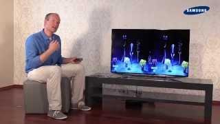 Samsung TV 2014 - 09 3D schauen / Shautter Brille / 2D in 3D