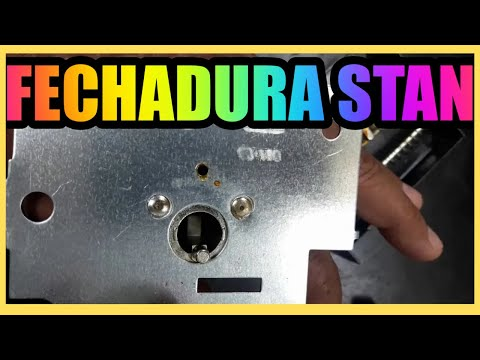 FECHADURA STAN - Como Desmontar o Cilindro - Curso de Chaveiro Online!!