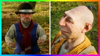 Top 10 WEIRDEST Characters In Red Dead Redemption 2! (RDR2 Easter Eggs)