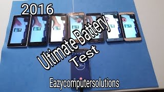 Galaxy Note 7 Vs Nexus 6p Vs OnePlus 3: Ultimate Battery Test 2016