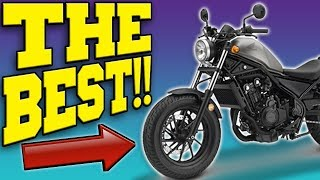 The 2019 Honda Rebel 500 Is The BEST BEGINNER MOTORCYCLE EVER!