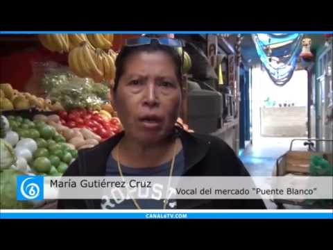Locatarios dan a conocer las necesidades que existen en el mercado Puente Blanco en Valle de Chalco