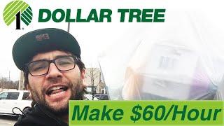 $60/HOUR! Easy Money! 100% Legal Dollar Tree Retail Arbitrage.
