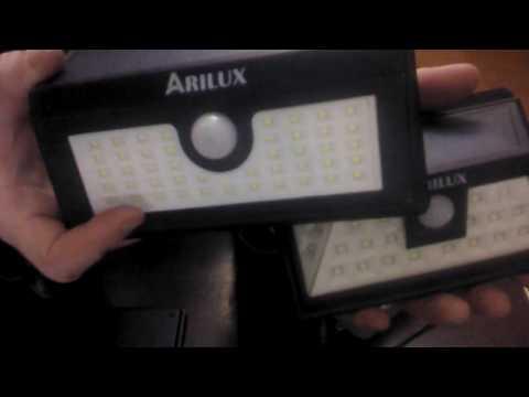ARILUX® AL-SL09 Solar Power 24 LED Waterproof PIR