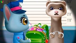 УЧИМ ПРОФЕССИИ #3 Полицейский ❀ Пожарник ✿ Доктор ❀ Строитель ✿ Развивающая Игра для Деток
