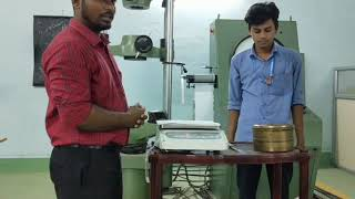   Fineness of cement   In Telugu   By P.suresh   Hindu college of engineering and technology  