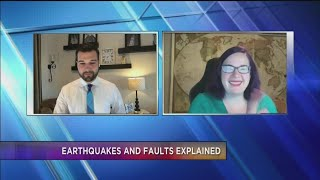Local Geologist explains Lone Pine earthquake and faults in the area