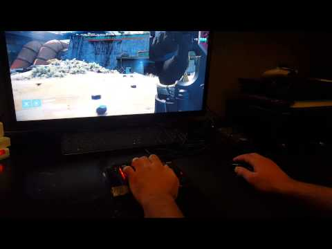Видео № 0 из игры Игровая мышь и кейпад Hori T.A.C.4