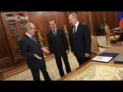 Стали известны детали беседы Путина и Шаймиева в Кремле