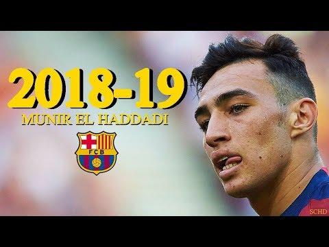 Munir El Haddadi 2018/2019 - Barcelona - Goals & Skills | HD