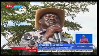KTN Leo: Kinara wa CORD Raila Odinga atishia kutoshiriki kwa uchaguzi mkuu ujao
