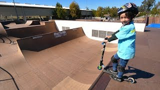 INSANE 6 YEAR OLD SCOOTER KID!