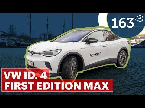 VW ID.4 First Edition MAX - Alltag mit dem neuen Elektro SUV - 77 kWh - Test von 163 Grad