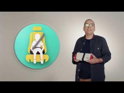 Mifold Бустер автомобильный  Grab-and-Go Slate Grey