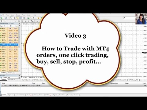 Forex for Beginners. How to Trade with MT4