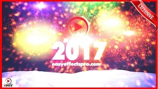 Happy New Year E-Cards, Awesome New Year Countdown 2017 Based animated videos A unique