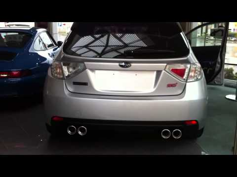 Subaru Impreza Cosworth CS400 Exhaust sound