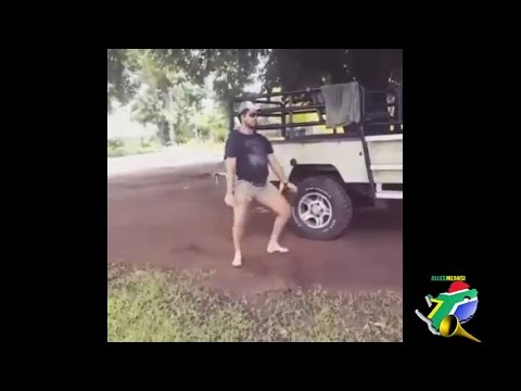 White South Africans  dancing to house music