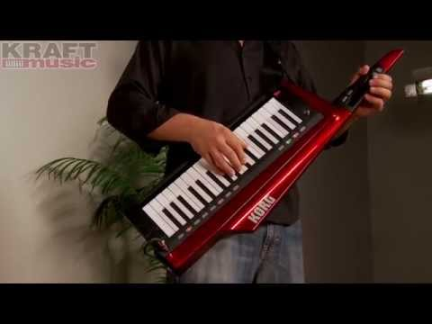 Kraft Music - Korg RK100S Keytar Demo with Rich Formidoni
