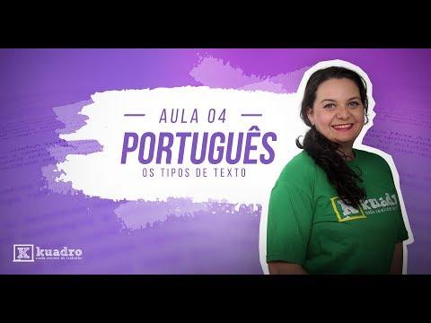 Profª. Erica Heredia - Português: Os Tipos de Texto