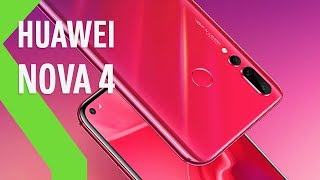 Huawei NOVA 4, el primer teléfono con la PANTALLA AGUJEREADA de Huawei