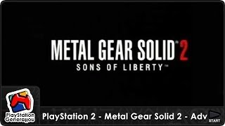 PlayStation 2 - Metal Gear Solid 2 - US Commercial (2001)