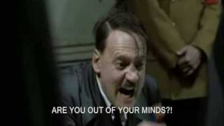 Hitler finds out he's in a parody