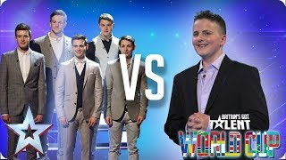 Collabro vs Andrew Johnston | Britain's Got Talent World Cup 2018 - Video Youtube
