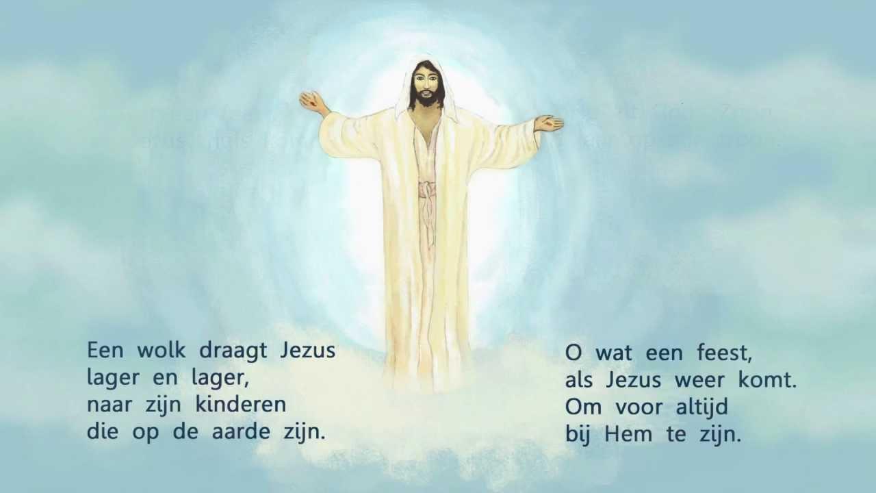 Kinderlied: Hemelvaart van Jezus