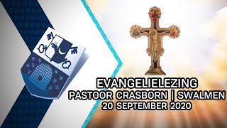 Evangelielezing pastoor Crasborn | Swalmen - 20 september 2020 - Peel en Maas TV Venray