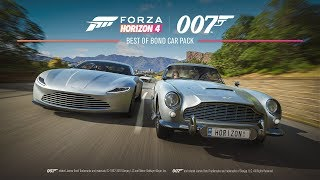 BOND CARS FORZA HORIZON 4 ULTIMATE EDITION