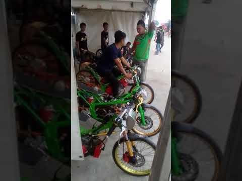 Humayra racing team# seting tipis tipis bebek fu 200