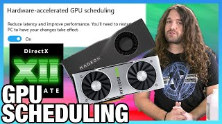 Windows Hardware Accelerated GPU Scheduling Benchmarks (Frametimes & FPS)
