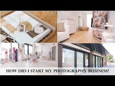 How I started my Photography Business -  How did I become a Newborn and baby photographer?
