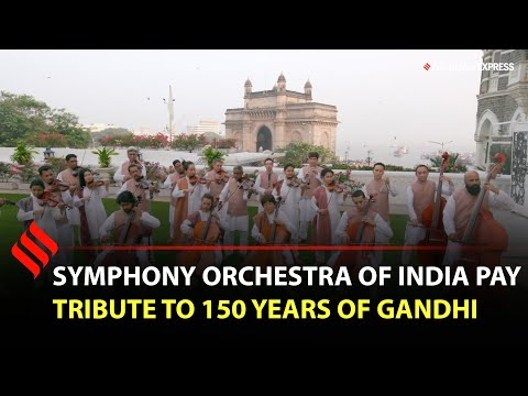 Symphony Orchestra of India pay tribute to 150 years of Gandhi