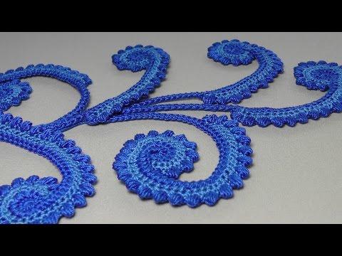Crochet Candle урок вязания крючком пышный рачий шаг завиток
