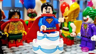 Lego Superman Birthday Party - Unlucky Day