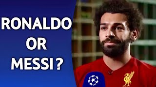Ronaldo or Messi? | ft. Salah Mbappe Hazard PART 2